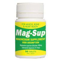 Mag Sup Magnesium 500mg 50 Tablets
