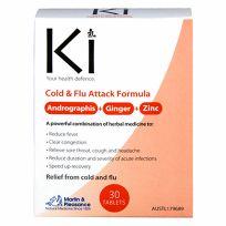 Ki Cold & Flu Attack Formula 30 Tablets