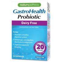 Naturopathica GastroHealth Daily Probiotic Dairy Free 30 Capsules