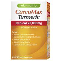 Naturopathica Curcumax Turmeric 20,000mg 60 Tablets