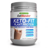 Naturopathica FatBlaster Keto Fit Plant Protein Powder Chocolate 300g