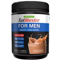 Naturopathica FatBlaster Weight Loss Shake for Men Chocolate 385g