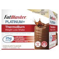 FatBlaster Platinum+ ThermoBurn Weight Loss Shake Chocolate 14 x 50g