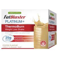 FatBlaster Platinum+ ThermoBurn Weight Loss Shake Coffee 14 x 50g