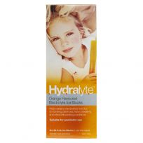 Hydralyte Electrolyte Ice Blocks Orange 16 Pack
