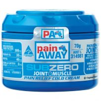 Pain Away Sub Zero Pain Relief Cream 70g