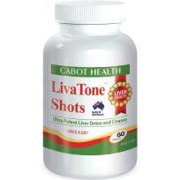 Cabot Health Liva Tone Shots 60 Tablets