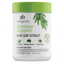 Wellgrove Immune Support Olive Leaf Extract 60 Capsules