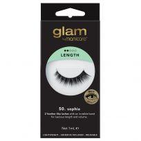 Glam by Manicare Lashes 50. Sophia