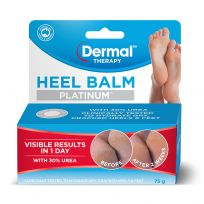 Dermal Therapy Platinum Heel Balm 75g