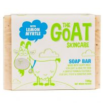 The Goat Skincare Soap Bar with Lemon Myrtle 100g