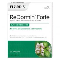 Flordis ReDormin Forte Valerian for Sleep 30 Tablets