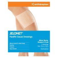 Jelonet Dressing 10cm X 10cm 3 Pack