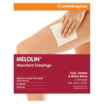Melolin 10cm X 10cm 3 Pack