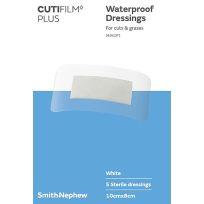 Cutifilm Plus 10cm X 8cm 5 Pack