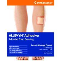 Allevyn Adhesive 7.5cm X 7.5cm 2 Pack