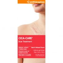Cica Care 12cm x 3cm Silicone Sheet  1 Pack