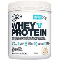 BSC Body Science Whey Protein Vanilla 400g