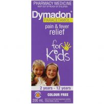 Dymadon Kids Paracetamol 2 - 12 Years Orange 200ml