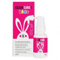 Clean Ears Kids Wax Remover 30ml
