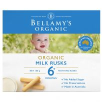 Bellamy's Organic Milk Rusks 100g