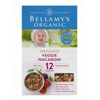 Bellamy's Pasta Veggie Macaroni 175g