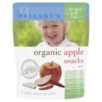 Bellamy's Organic Apple Snacks 20g