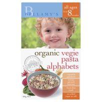 Bellamy's Organic Vegie Pasta Alphabets 200g