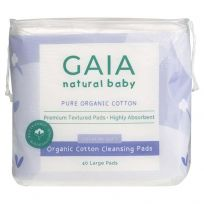 Gaia Organic Cotton Cleansing Pads 40 Pack