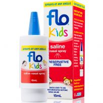 FLO Kids Saline Nasal Spray 15ml