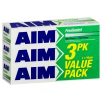 AIM Toothpaste Freshmint 90g 3 Pack