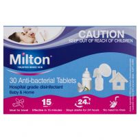 Milton Baby Antibacterial 30 Tablets