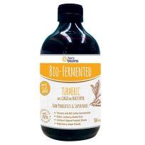 Henry Blooms Bio Fermented Liquid Turmeric Ginger Black Pepper 500ml