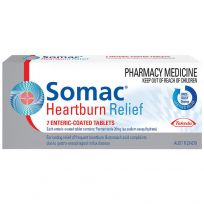 Somac Heartburn Relief 20mg 7 Tablets