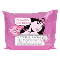 Essenzza Fuss Free Facial Wipes Cleanse & Refresh 25 Pack