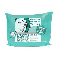 Essenzza Fuss Free Facial Wipes Natural Micellar 25 Pack