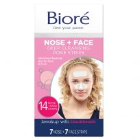 Biore Combo Deep Cleansing Pore Strips 14 Pack