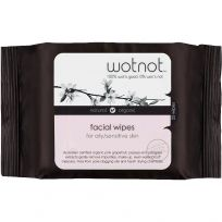 Wotnot Facial Wipes For Oily/Sensitive Skin 25 Pack