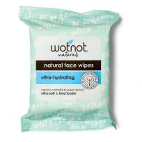 Wotnot Facial Wipes For Dry/Sensitive Skin 25 Pack