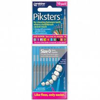 Pikster Interdent Brush Size 0 10 Pack