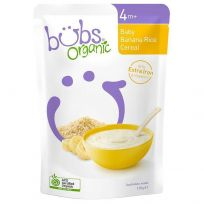 Bubs Organic Banana Rice Cereal 125g