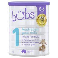 Bubs Goat Milk Infant Formula Stage 1 800g
