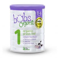 Bubs Organic Grass Fed Infant Formula (Stage 1) 800g