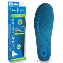 Footlogics Plantar Fasciitis Orthotic Insoles Medium