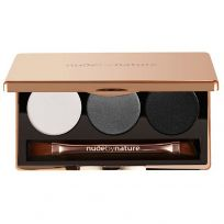 Nude By Nature Natural Illusion Eyeshadow Trio Smoky