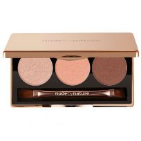 Nude By Nature Natural Illusion Eyeshadow Trio Rose
