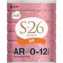 S26 Gold Alula Anti Reflux Formula 900g