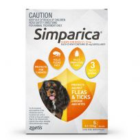 Simparica Dog Small 6 Chews Pack