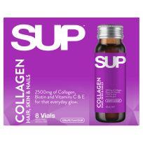 SUP Vitamins Shot Collagen Hair, Skin & Nails 8 x 50ml Vials