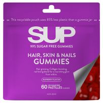 SUP Vitamins Hair, Skin & Nails Gummies 60 Pack